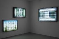 Blacklit, Arka Aydınlatmalı Fotoğraf Yerleştirme 90 x 135 x 10 cm